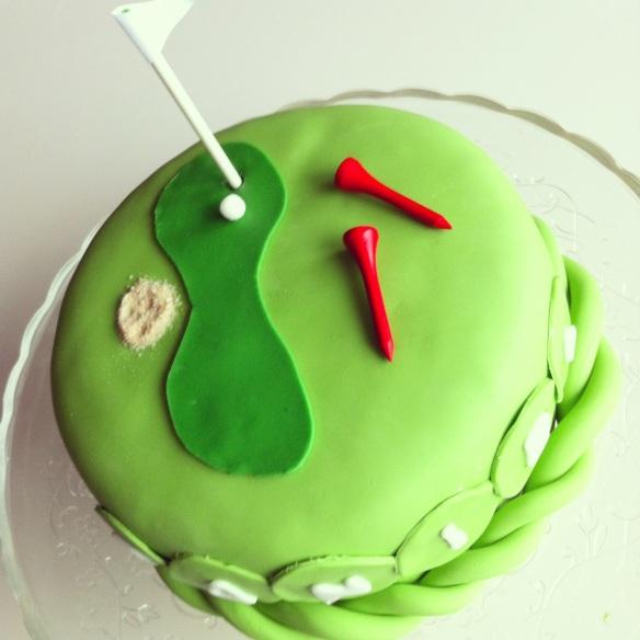 Golftårta